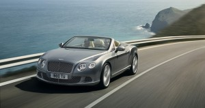 Bentley GTC in motion